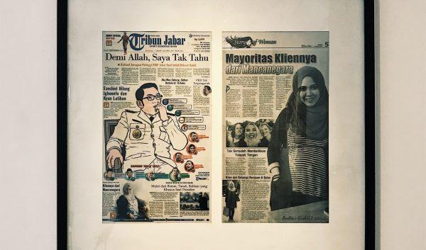 Tribun Jabar (newspaper) Coverage About Hubton