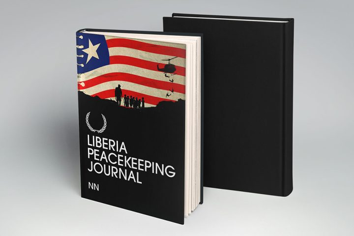 Liberia Peacekeeping Journal Book Cover