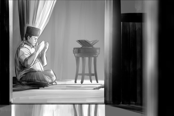 Storyboard for Prabowo Subianto Video Ad