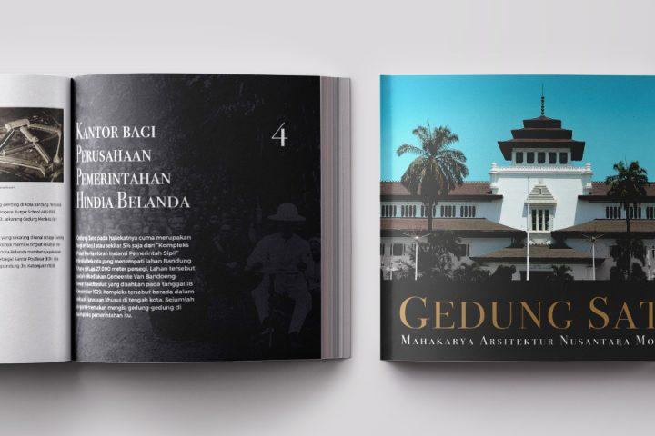 Gedung Sate - Mahakarya Arsitektur Nusantara Modern Book Cover