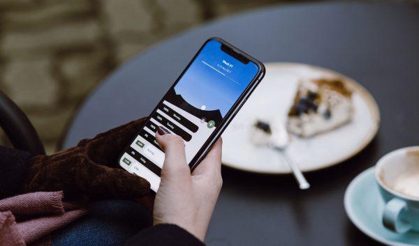 Calendar app UI displayed in a smartphone