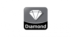 Diamond Cold Storage logo in black and white