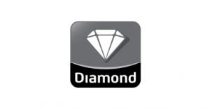 Diamond Cold Storage logo in black and white