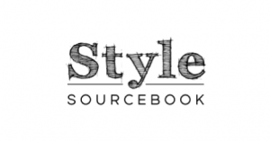 Style Sourcebook logo in black and white